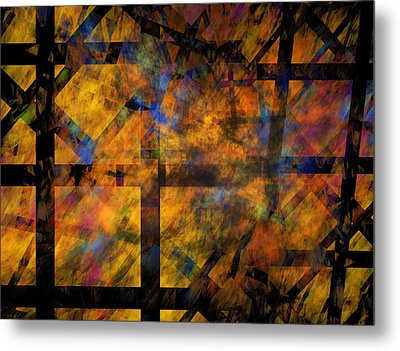 To See The Fire Metal Print