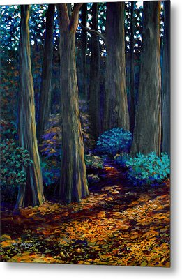 To The Woods Metal Print