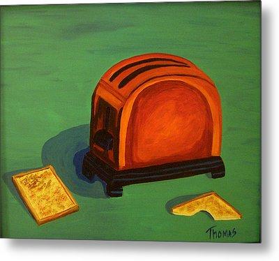 Toaster Metal Print by Cynthia Thomas