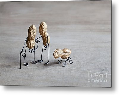 Together 02 Metal Print by Nailia Schwarz