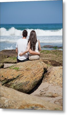 Metal Print featuring the photograph Together by Carole Hinding