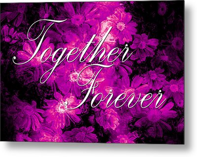 Together Forever Metal Print by Phill Petrovic