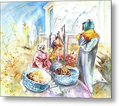 Together Old In Morocco 01 Metal Print by Miki De Goodaboom