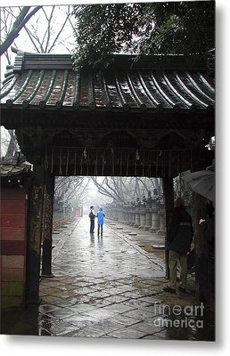 Metal Print featuring the photograph Tokyo by Leslie Hunziker