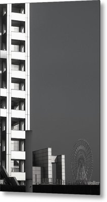 Tokyo's Devil's Wheel Metal Print
