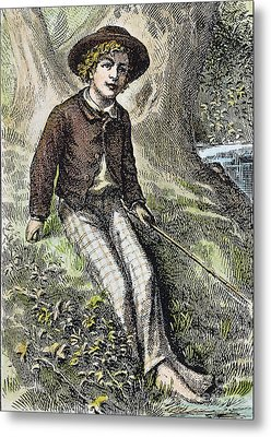 Tom Sawyer, 1876 Metal Print
