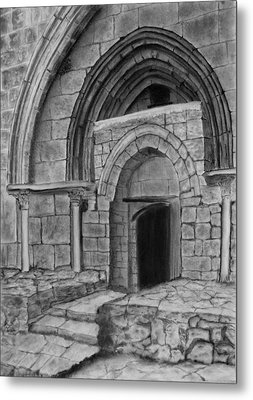 Tomb Of Virgin Mary Metal Print by Marwan Hasna - Art Beat
