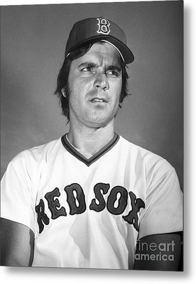 Tony Conigliaro (1945-1990) Metal Print by Granger