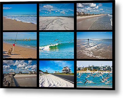 Topsail Island Images Metal Print by Betsy Knapp