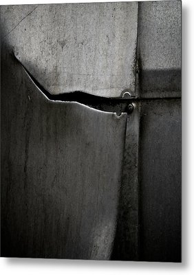 Torn Curtain Metal Print by Odd Jeppesen