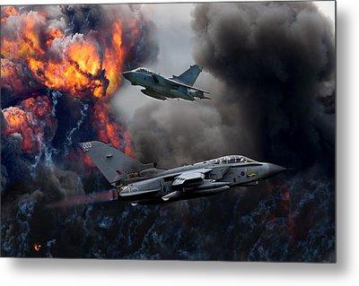 Tornado Gr4 Attack Metal Print