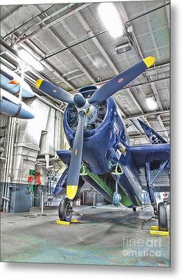 Metal Print featuring the photograph Torpedo Bomber by Jason Abando