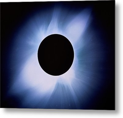 Total Solar Eclipse Metal Print by Rev. Ronald Royer