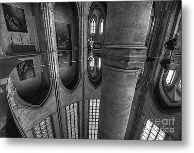 Metal Print featuring the photograph Toulouse Reflections I by Jack Torcello