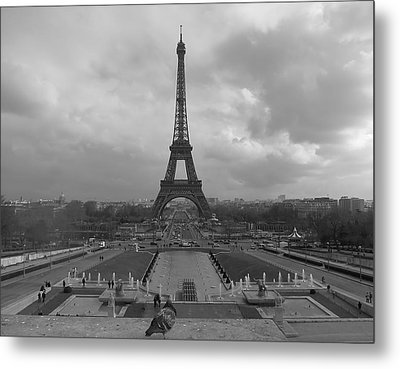 Tour Eiffel Metal Print by Blake Yeager