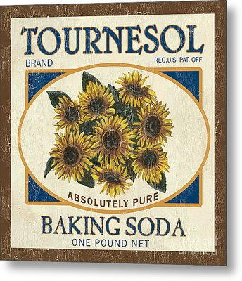 Tournesol Baking Soda Metal Print by Debbie DeWitt