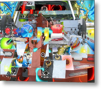 Tow Metal Print by Dave Kwinter