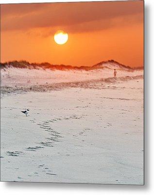 Toward The Sunrise Metal Print by Vicki Jauron