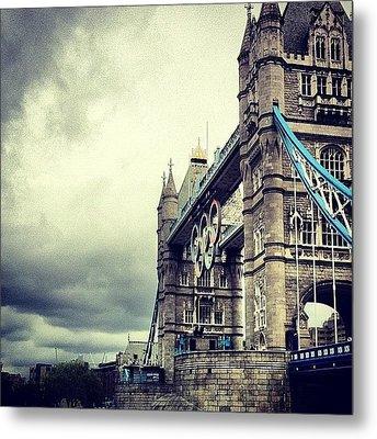 Tower Bridge 2012 Metal Print by Samuel Gunnell