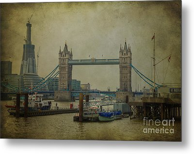 Metal Print featuring the photograph Tower Bridge. by Clare Bambers