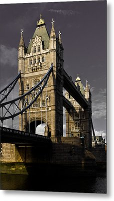 Tower Bridge Metal Print by David Pyatt