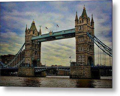 Tower Bridge London Metal Print by Heather Applegate