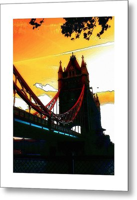 Tower Bridge London Metal Print by Steve K