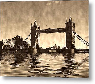 Tower Bridge Metal Print by Sharon Lisa Clarke
