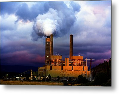 Toxic Beauty Metal Print by Wendy White