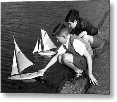 Toy Boats Metal Print by Harry Todd