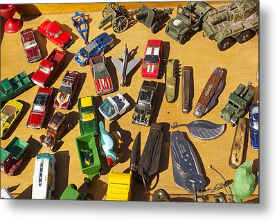 Toy Cars Metal Print by Michael Clarke JP