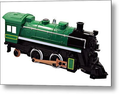 Toy Engine Metal Print by Susan Leggett