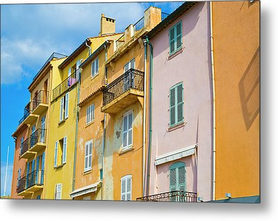 Traditional Houses Metal Print by John Harper