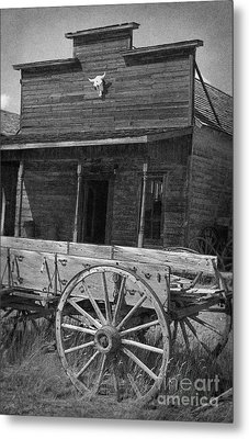 Trail Town In Cody Wyoming Metal Print by Janeen Wassink Searles