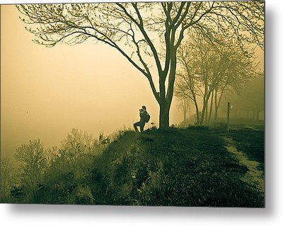 Trails Metal Print by Jason Naudi Photography