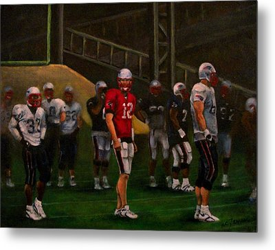 Metal Print featuring the painting Training Camp by Sarah Farren