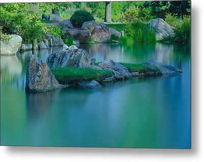Tranquil Island Metal Print by Jonah  Anderson