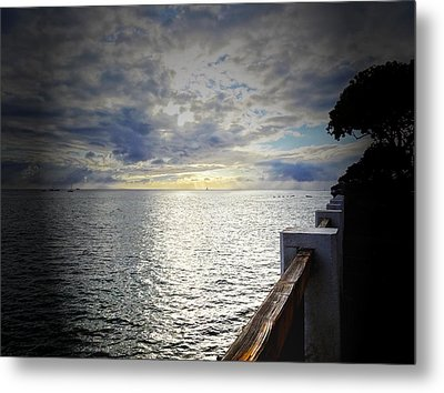 Tranquility Metal Print by MaryJane Armstrong