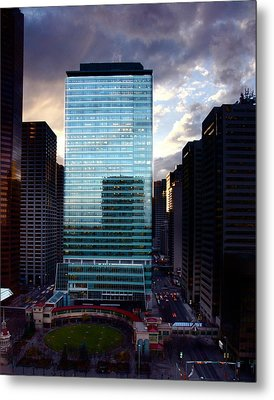 Transcanada Tower Metal Print