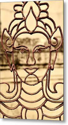 Transparence Metal Print by Dean Harte