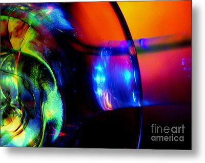Transparent Color Metal Print by R Kyllo