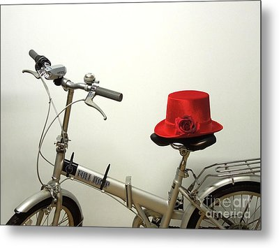 Traveling In Style Metal Print by Renee Trenholm