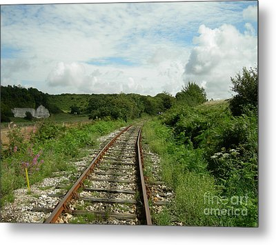 Traveling Towards One's Dream Metal Print