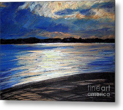 Traverse Bay Metal Print by Lisa Dionne