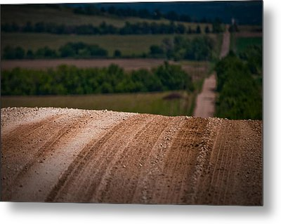 Metal Print featuring the photograph Tread On Me by Brian Duram