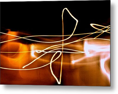 Treble Cleff Metal Print