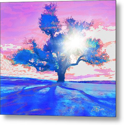 Tree Art 001 Metal Print by Suni Roveto