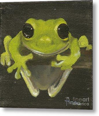 Tree Frog 2 Metal Print