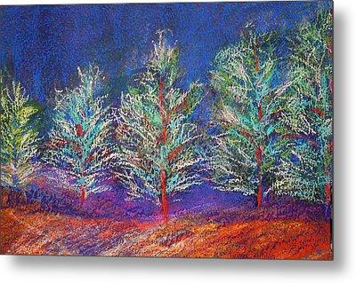 Tree Line Metal Print by Karin Eisermann