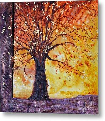Tree Of Hope Life Love Metal Print